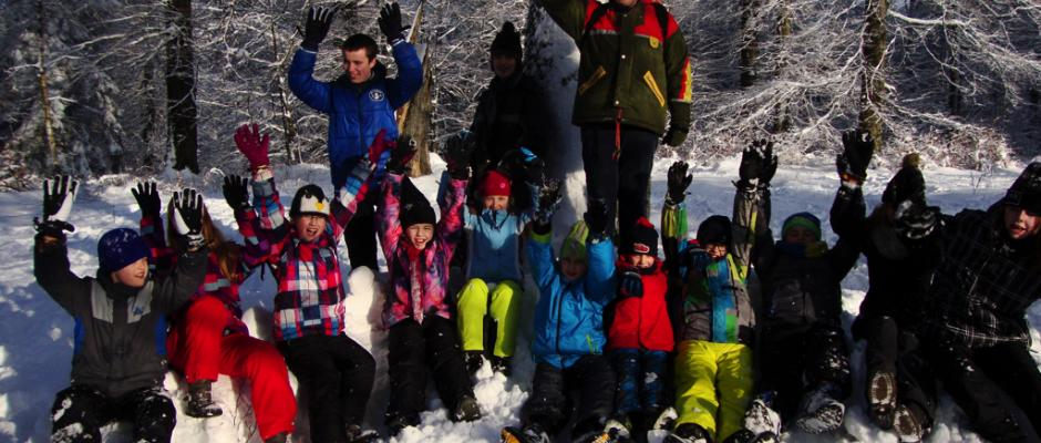 Tinostarkes Wintercamp Kinderland Jerichower Land e.V.