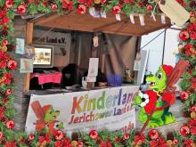 Kinderland Ferienlager Infostand