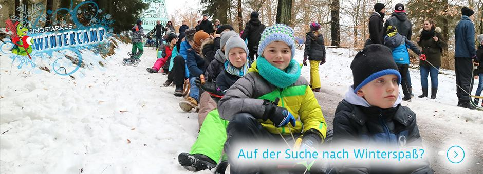 Tinostarkes Wintercamp bei Kinderland Jerichower Land e.V.